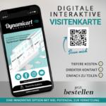 digitale interaktive Visitenkarte
